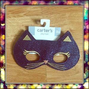 [Carter's] play mask 🐱